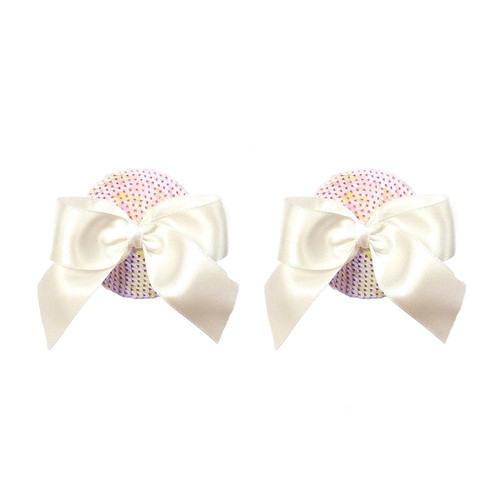 Bristols 6 - Nippies Gold Marilyn White Bows A/B