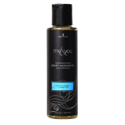 Me & You Massage Oil - Lemon Ginger
