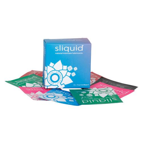 Sliquid Naturals Lube Cube 12 pk