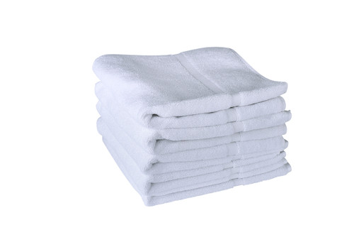 White Bath Mats 660 GSM Ringspun- Set of 50