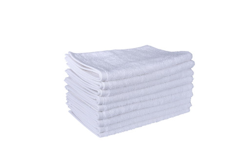 White Hand Towels 650 GSM Combed- Set of 10