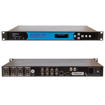 RECEIVER - GEOSATpro DSR160 RACK MOUNT IRD WITH HDMI, Component, Balanced XLR Ouptuts