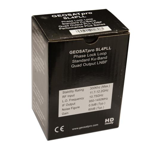 LNBF - SL4PLL - GEOSATpro QUAD STANDARD KU PHASE LOCKED LOOP