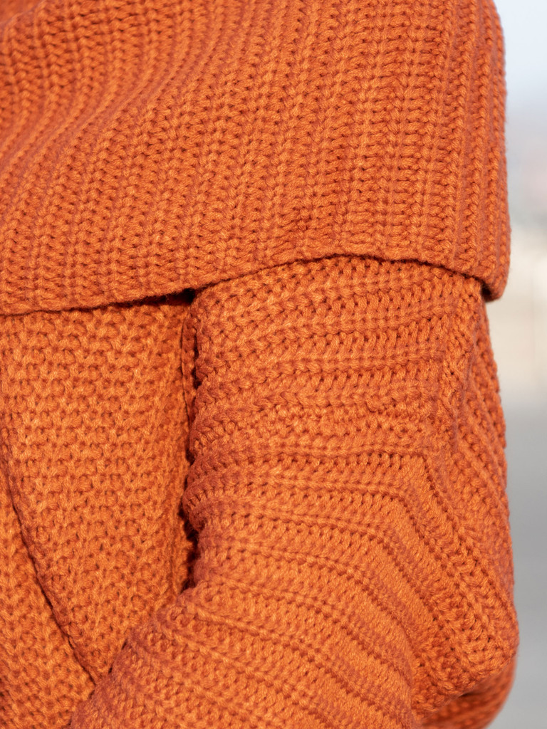 The Willow Fold Over Sweater