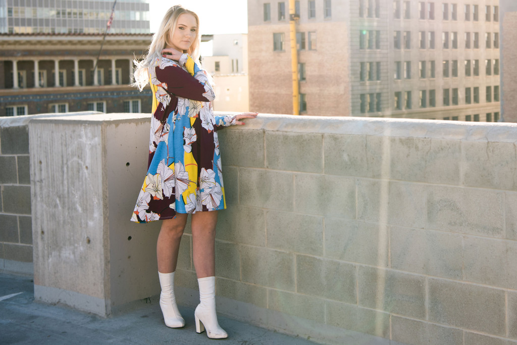 The Layla Flower Retro Dress