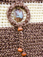 Driftwood Pale Yellow Rope Tote - A Boutique Martí Exclusive