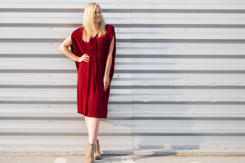 The Mila Caftan Maxi Dress