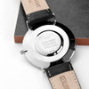 Engraved Men's Leather Anniversary Watch