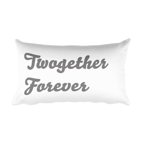 Twogether Forever - 2nd Anniversary Pillow