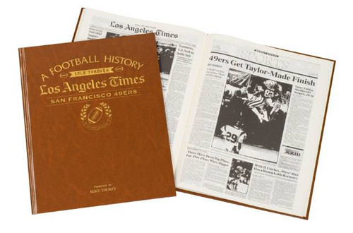Newspaper history of your favorite NFL team