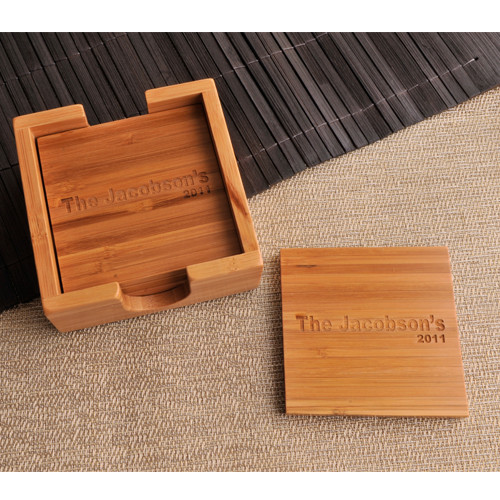 Personalized Wooden Coasters