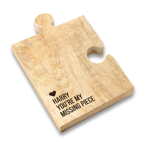 Missing Piece Jigsaw Puzzle Coaster