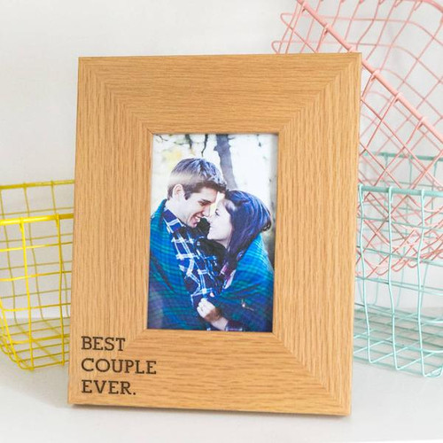 Best Couple Ever Wooden Photo Frame