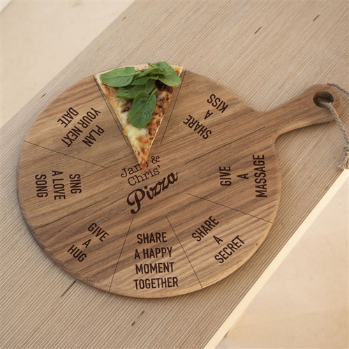 Romantic Pizza Board for couples