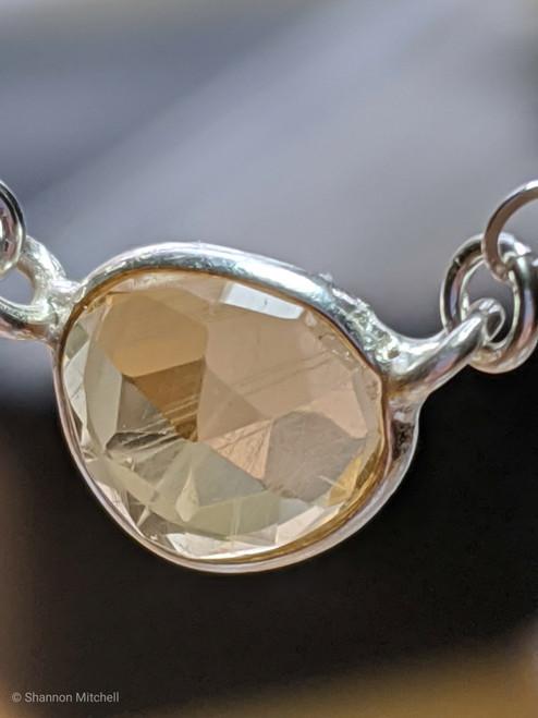 Citrine Gemstone necklace