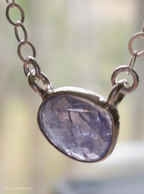 Tanzanite Gemstone Necklace