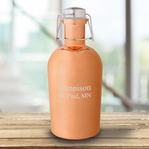 Personalized Copper Growler