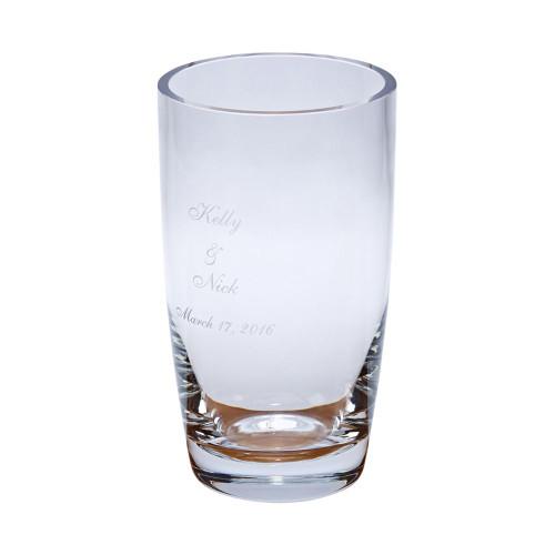 Engraved Anniversary Vase