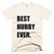 Best Hubby Ever T-Shirt in Cream