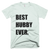 Best Hubby Ever T-Shirt in Ash Grey
