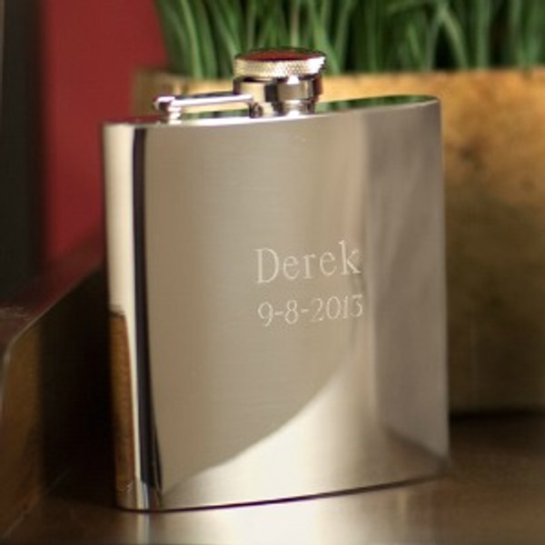 Personalized Steel Flask