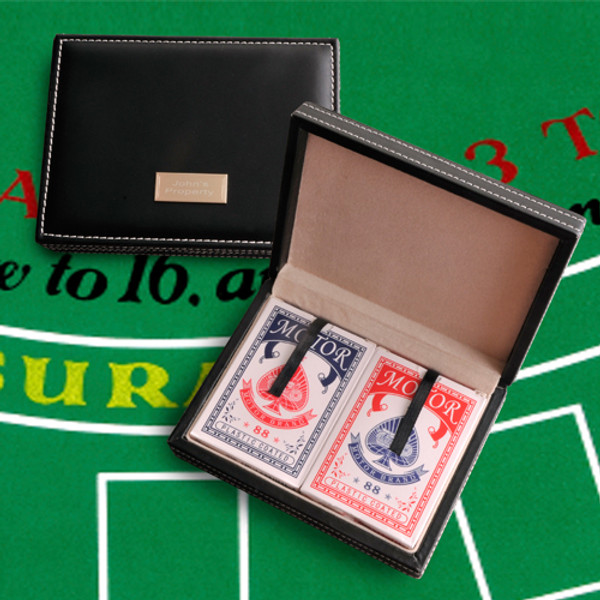 Personalized Leather Card Case