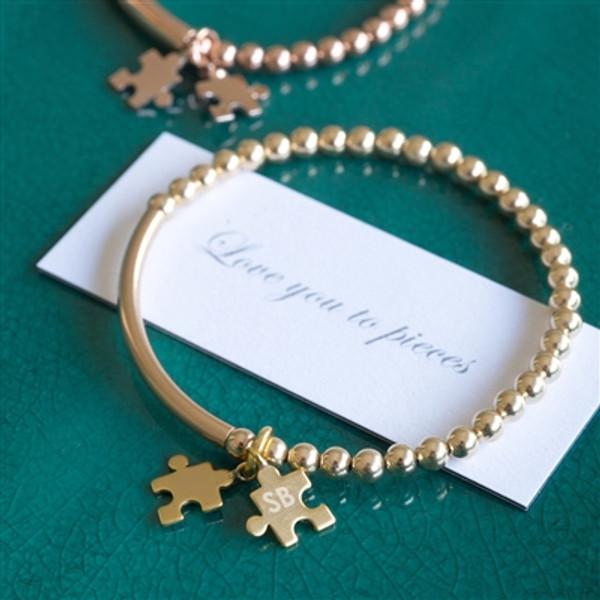 Gold Love To Pieces Bracelet