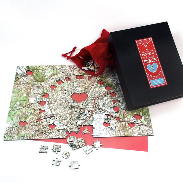You Are My World Personalized Jigsaw Puzzle