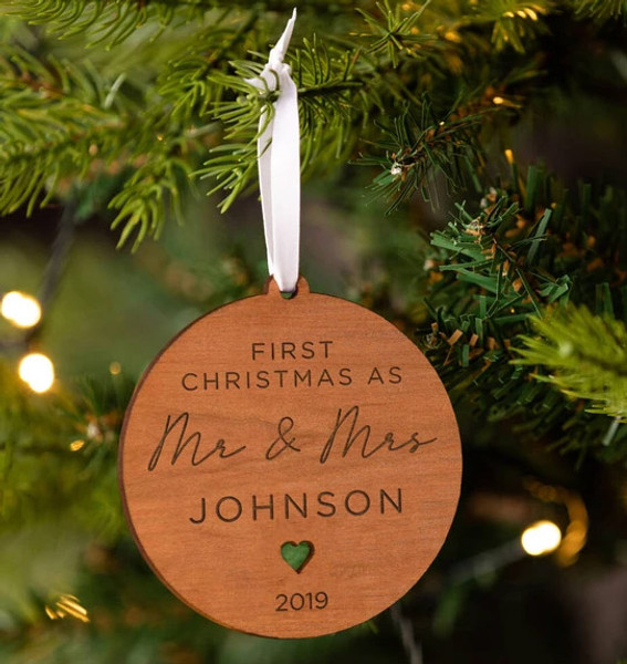 Couple's 1st Christmas Together Decoration