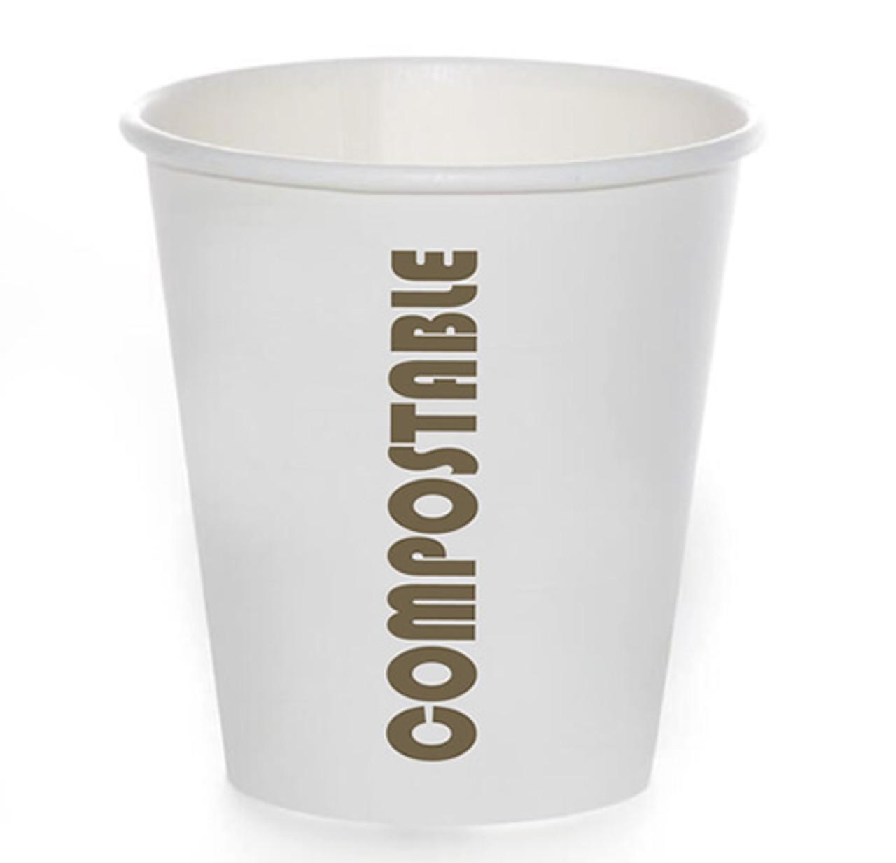 10oz Compostable Print™ Series Coffee Cup