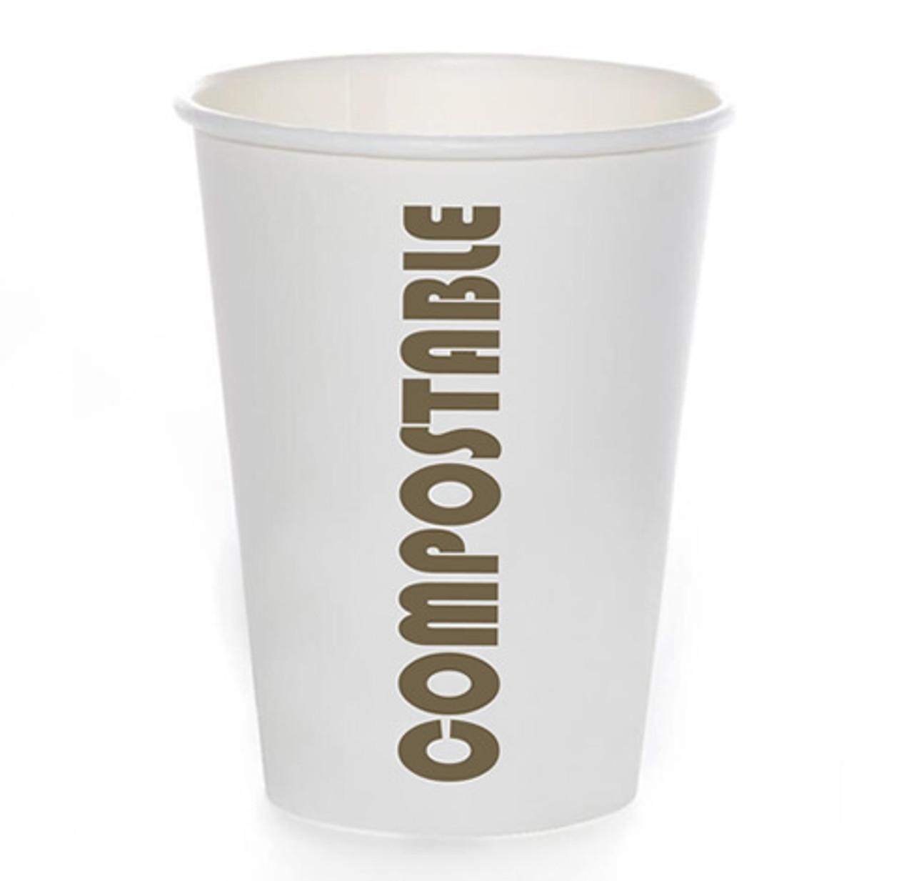 12oz Coffee Cup Compostable Print™ Series