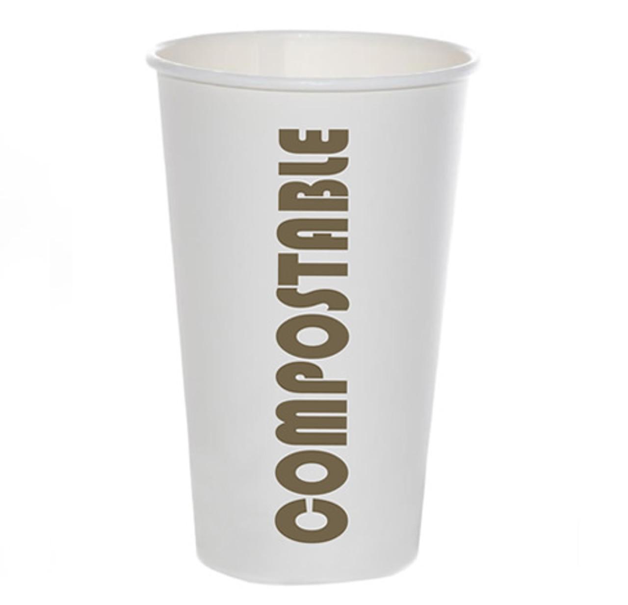 16oz Coffee Cup Compostable Print™ Series