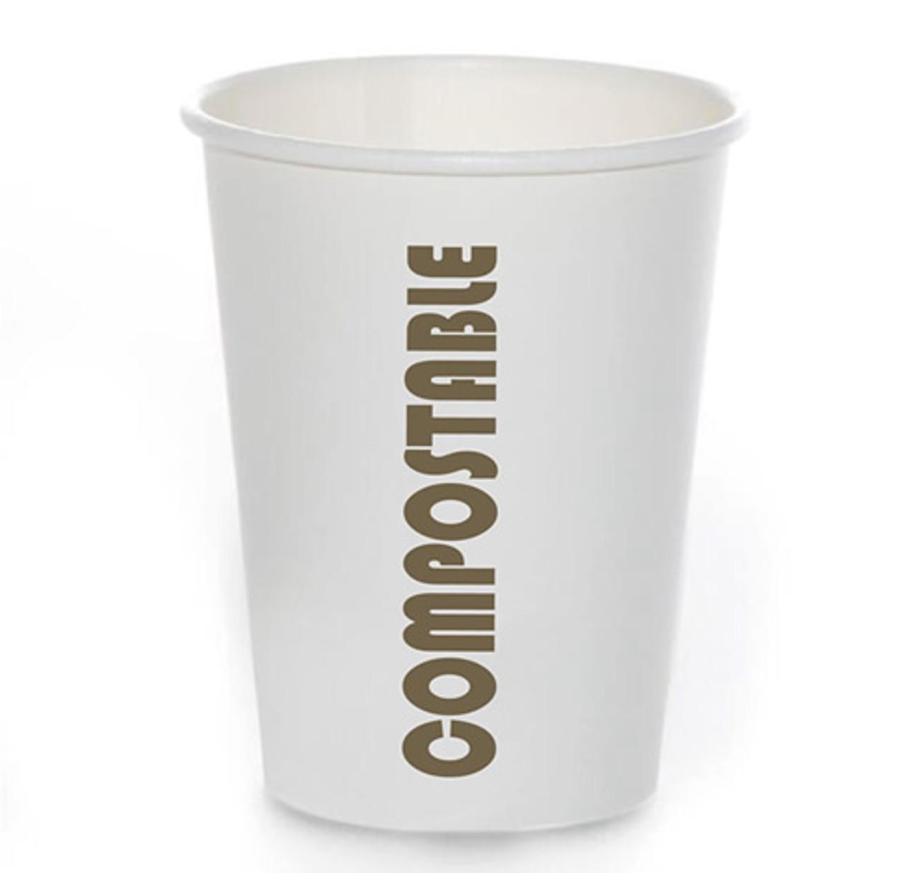 8oz Coffee Cup Compostable Print™ Series