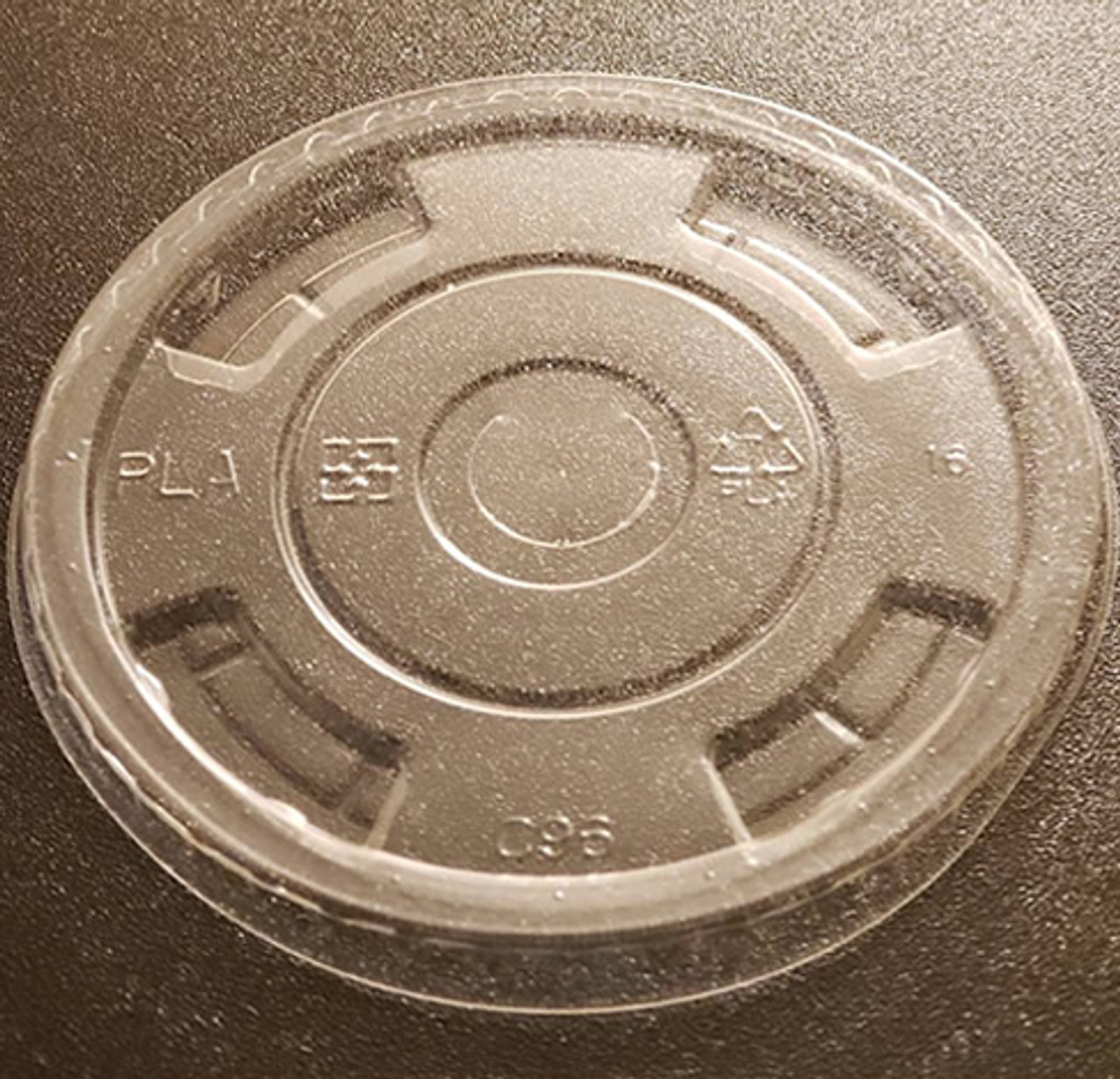 96mm Flat Lid for Cold Clear Cups
