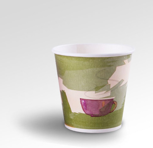 10oz Eclectic Series Green Coffee Cup