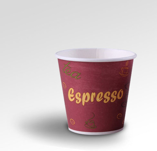 10oz Eclectic Series Red Coffee Cup