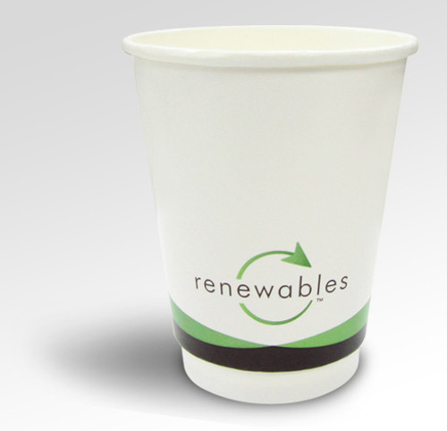 8oz Renewables™ Double Wall Cup