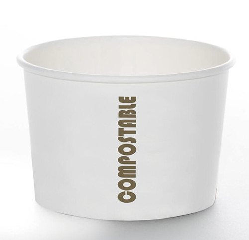 8oz Soup Cup Compostable Print™ Series