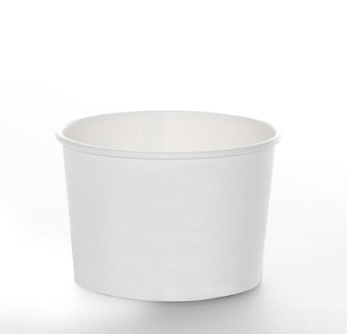 6oz Soup Cup - Non-Printed Series White