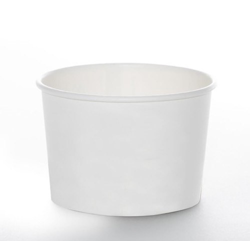 8oz Soup Cup - Non-Printed Series White