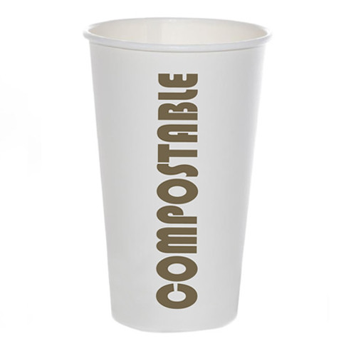16oz Coffee Cup Compostable Print™ Series