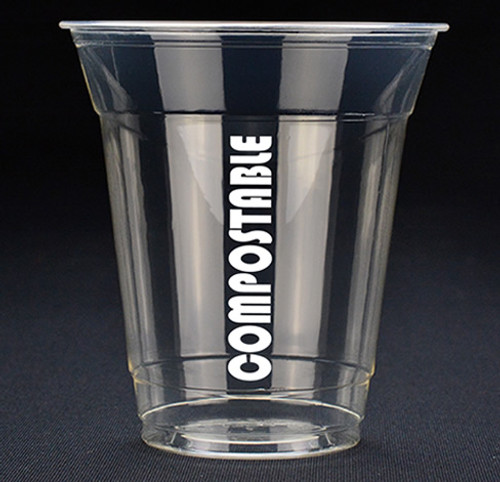 12oz Cold Clear Cup Compostable Print™ Series