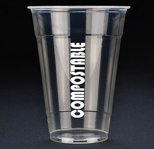 16oz Cold Clear Cup Compostable Print™ Series - By Renewables™