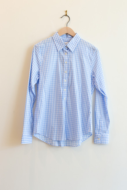 The Shirt Icon blue gingham