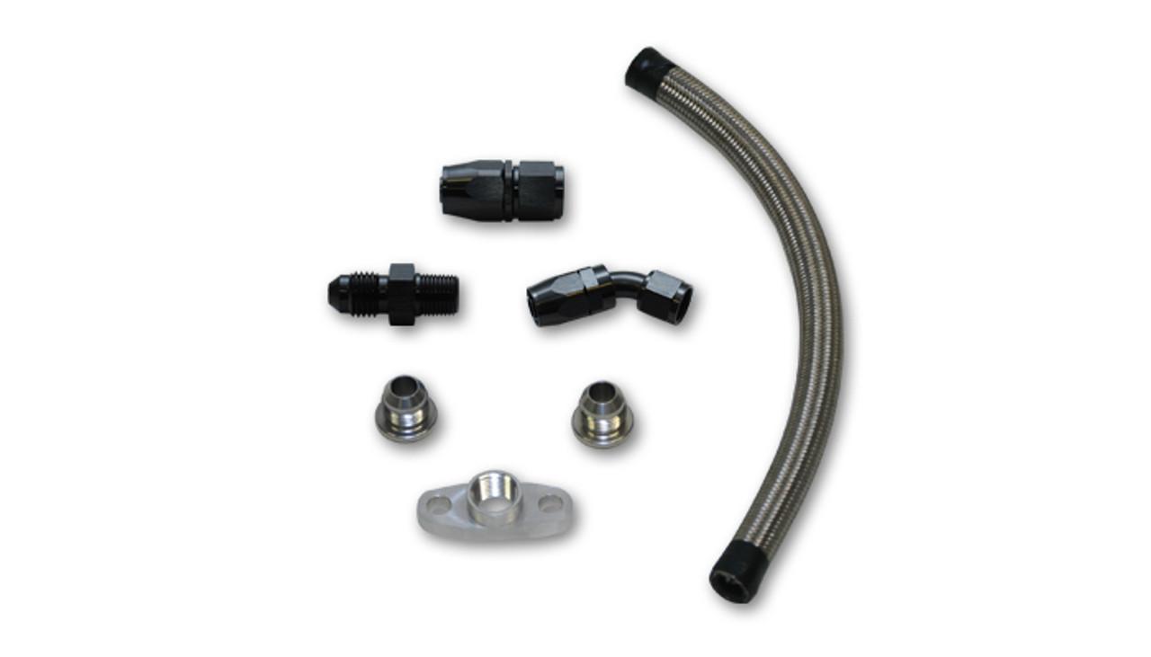 Oil Drain Line Kit For T3/T4 Turbo (Top-Mount Setups)