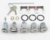 64 1964 Chevy Chevelle Malibu Ignition Door Glove Box Trunk Lock Set Kit