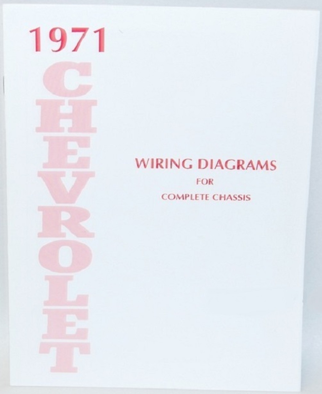 71 1971 Chevy Impala Electrical Wiring Diagram Manual I 5 Classic Chevy