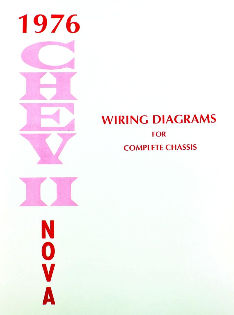 76 Chevy Chevrolet Nova Electrical Wiring Diagram Manual 1976 - I-5 on pontiac grand prix wiring-diagram, cadillac deville wiring-diagram, isuzu rodeo wiring-diagram, pontiac bonneville wiring-diagram, 1994 gmc topkick wiring-diagram, oldsmobile alero wiring-diagram, chevy brake light wiring diagram, hummer h2 wiring-diagram, buick century wiring-diagram, jaguar xj6 wiring-diagram,