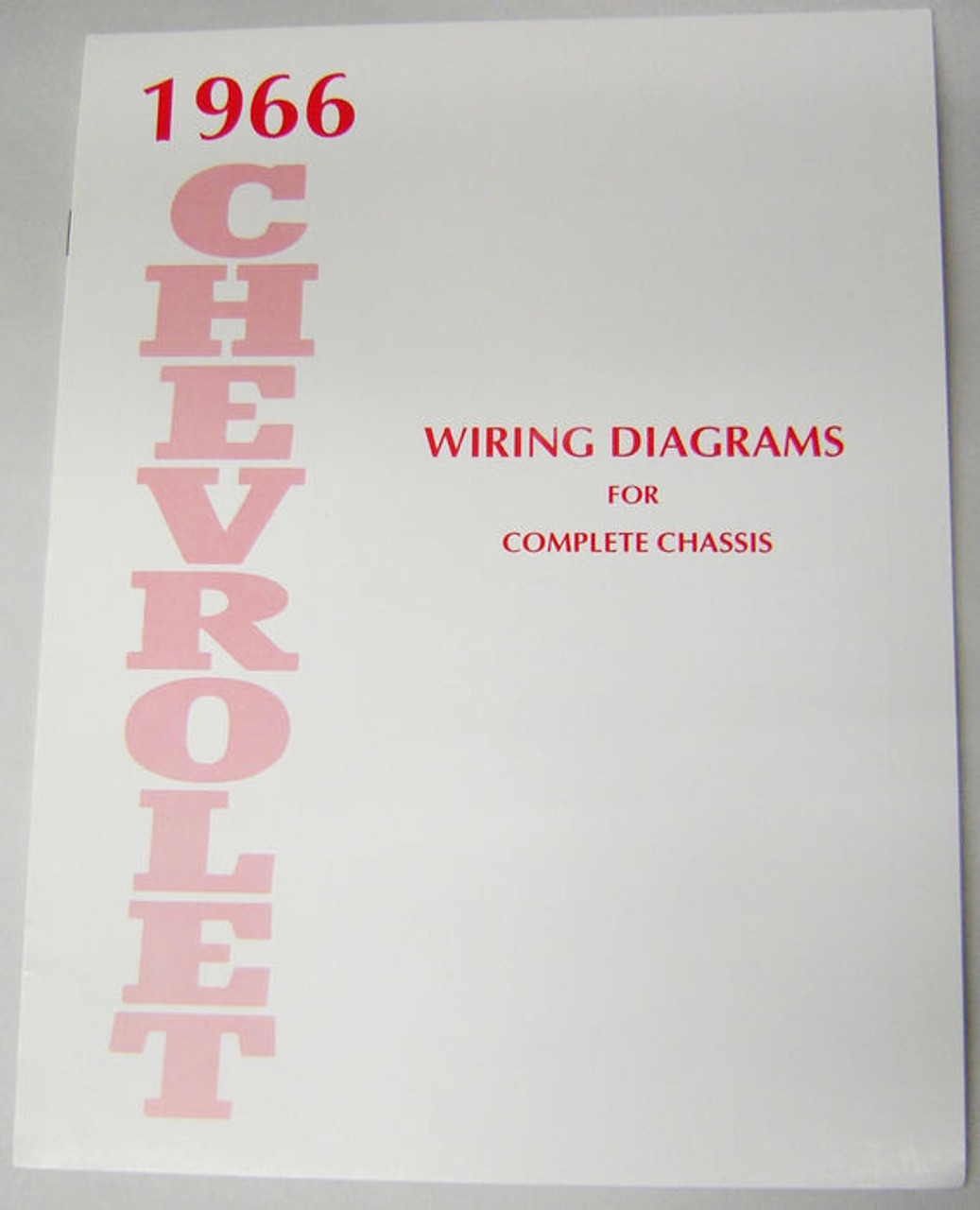 66 1966 chevy impala electrical wiring diagram manual