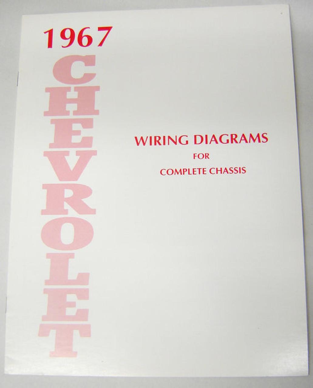 67 1967 Chevy Impala Electrical Wiring Diagram Manual - I-5 Classic ChevyI-5 Classic Chevy
